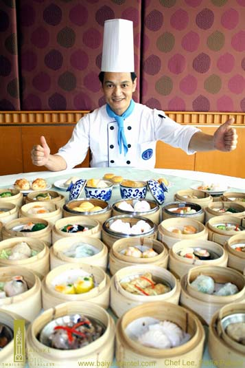 Chef Lee Chung Tei, 32-year of experience chef  from Hong Kong
