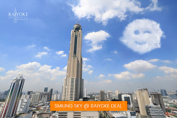 Smiling Sky @ Baiyoke Deal