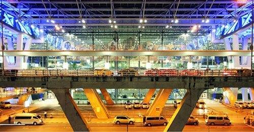 从素万那普机场(国际航站楼)出发